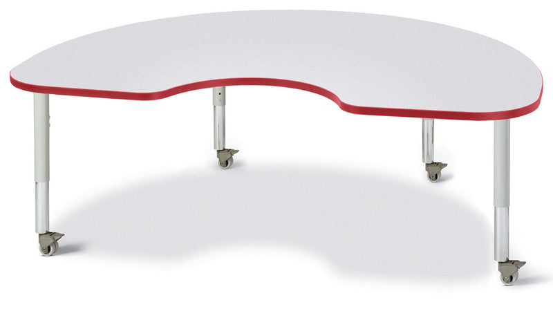 "Berries® Kidney Activity Table - 48"" X 72"", Mobile"