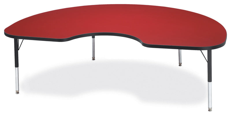 "Berries® Kidney Activity Table - 48"" X 72"", T-height By Jonti-Craft"