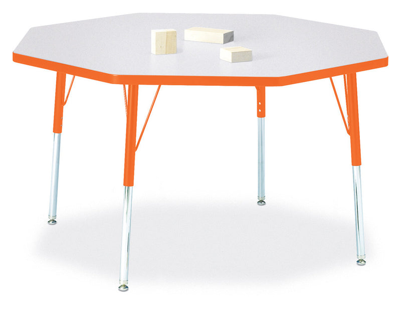 "Berries® Octagon Activity Table - 48"" X 48"", A-height"