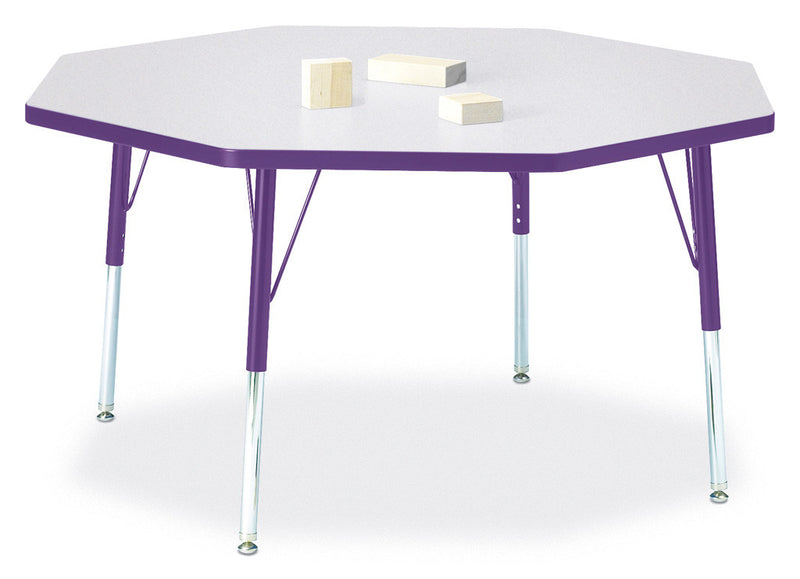 "Berries® Octagon Activity Table - 48"" X 48"", E-height"