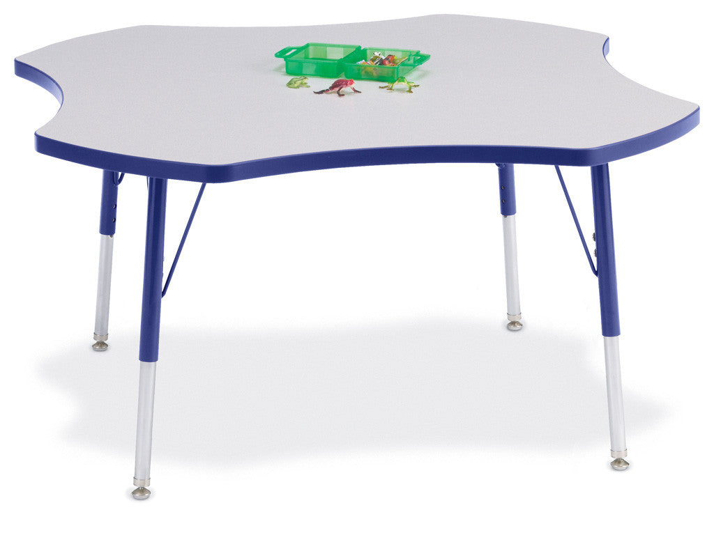 Four leaf school table