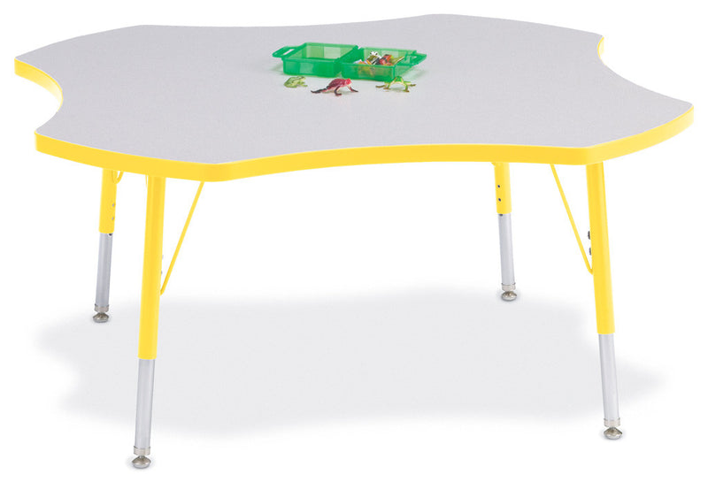 "Berries® Four Leaf Activity Table - 48"", E-height"