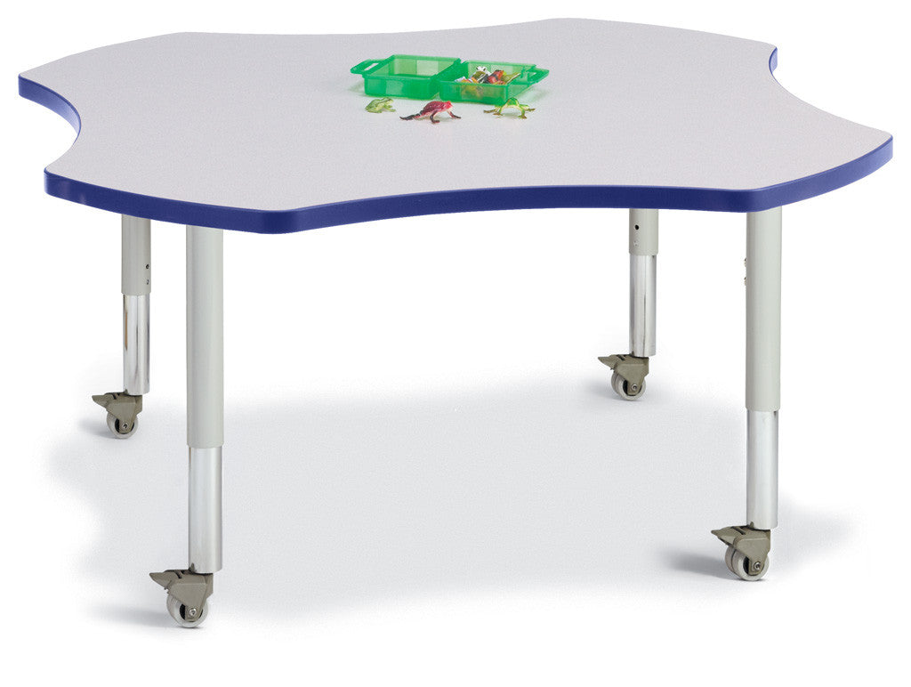 "Berries® Four Leaf Mobile Activity Table - 48"","