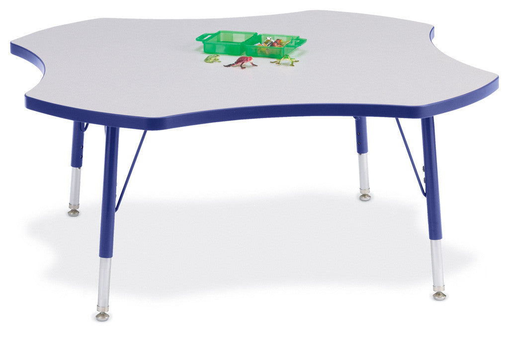 "Berries® Four Leaf Activity Table - 48"", T-height"
