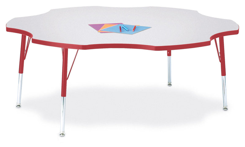 "Berries® Six Leaf Activity Table - 60"", E-height"