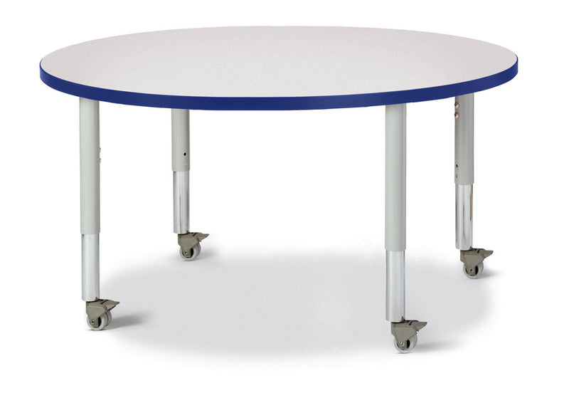 "Berries® Round Activity Table - 42"" Diameter, Mobile"