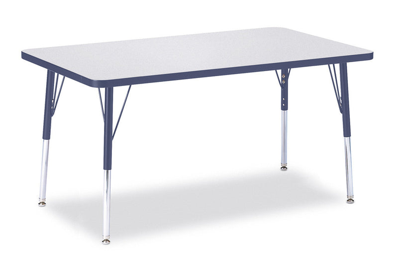 "Berries® Rectangle Activity Table - 30"" X 48"", A-height"