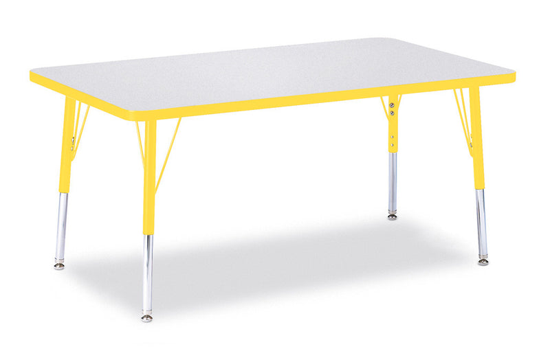 "Berries® Rectangle Activity Table - 30"" X 48"", E-height"
