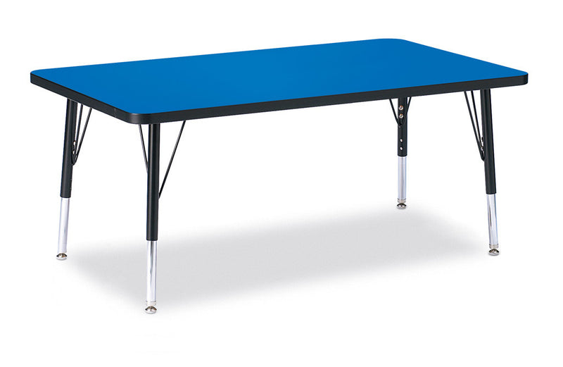 "Berries® Rectangle Activity Table - 30"" X 48"", T-height"