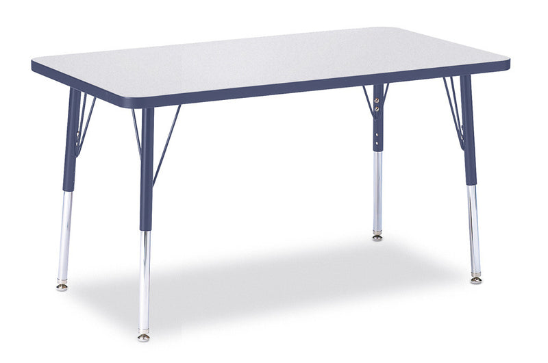 "Berries® Rectangle Activity Table - 24"" X 36"", A-height"