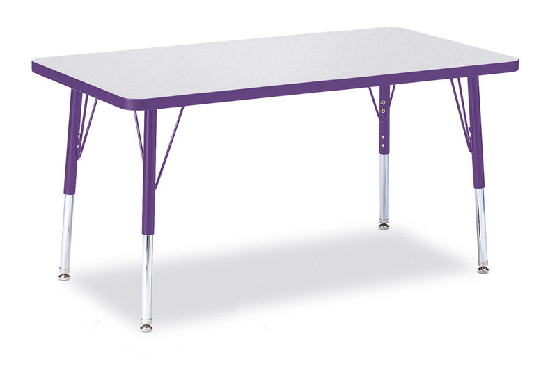 "Berries® Rectangle Activity Table - 24"" X 36"", E-height"
