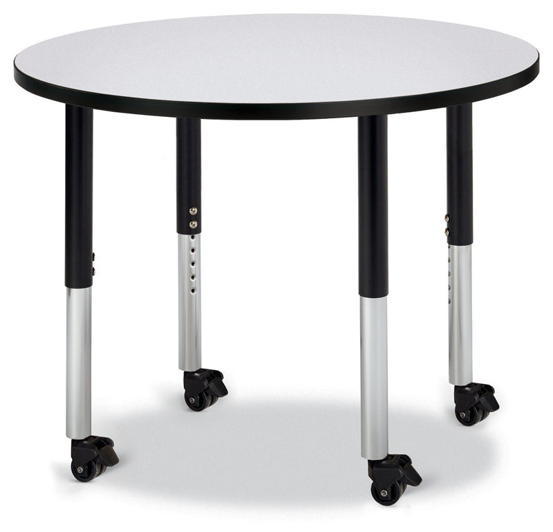 "Berries® Round Activity Table - 36"" Diameter, Mobile"