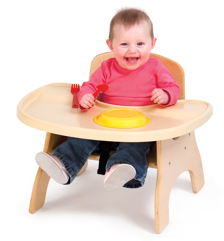 High Charries toddler high chair with tray