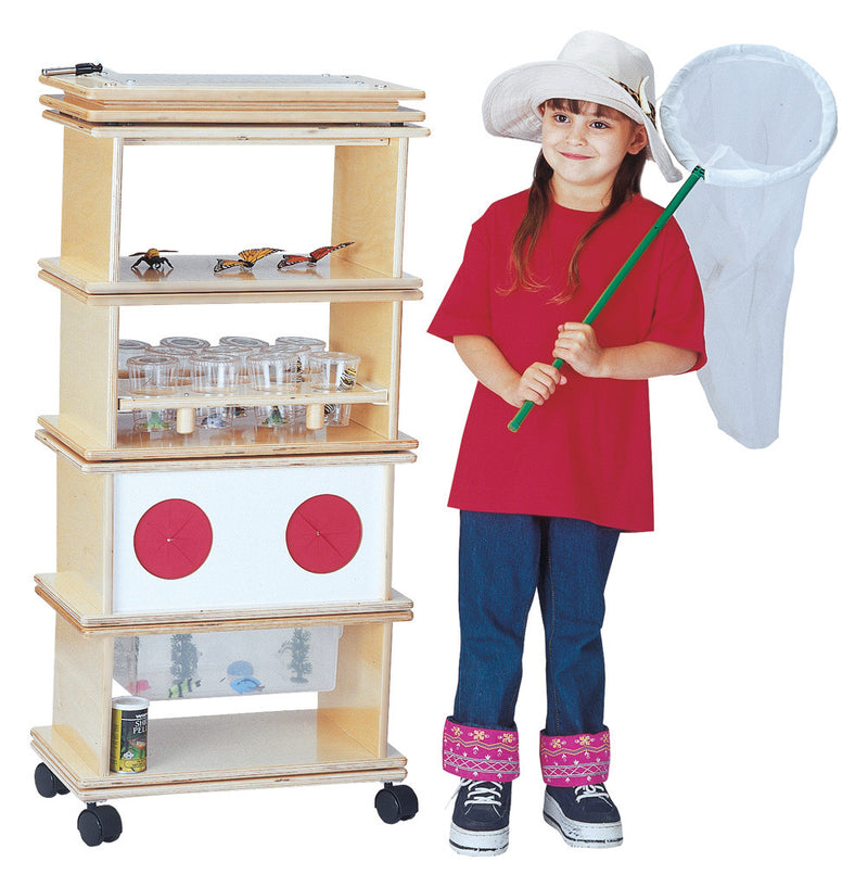 SCIENCE LAB SYSTEM 6 PIECE SET