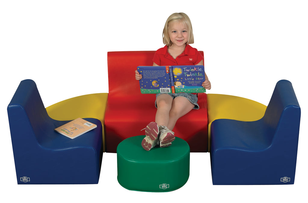 Medium Tot Contour Seating- Primary 6 Piece Set