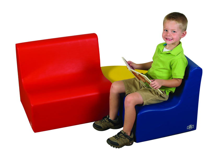 "Children's 10"" Contour 3 Piece Seating Set- primary"