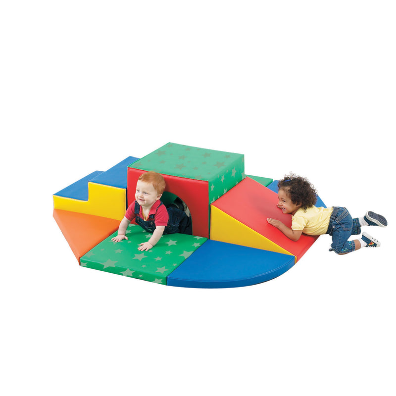 Soft Tunnel Set by Children's Factory