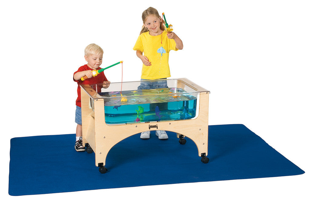 Jonti-Craft® Sensory Table Mat - Blue-Large or Small