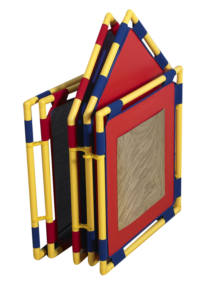BABY CORRAL PLAYPANEL - compact folded position