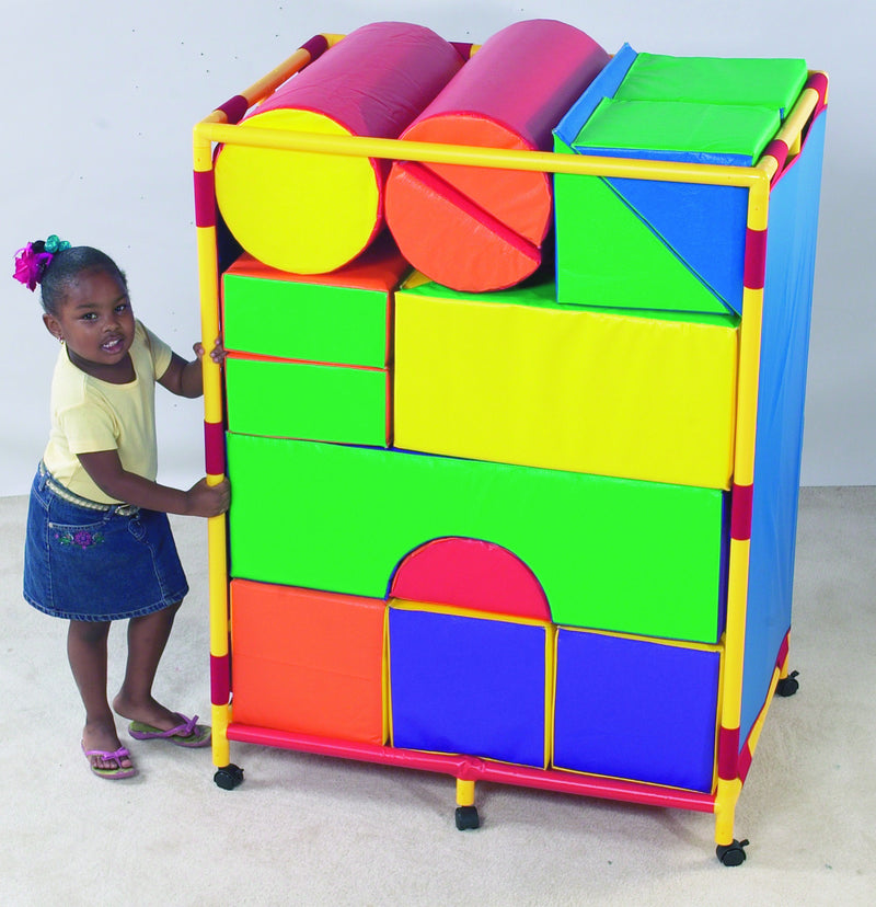 SOFT BIG BLOCK TROLLY SET A