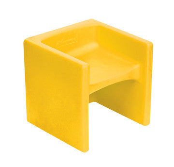 Chair Cubed Indoor/Outdoor Chair Yellow