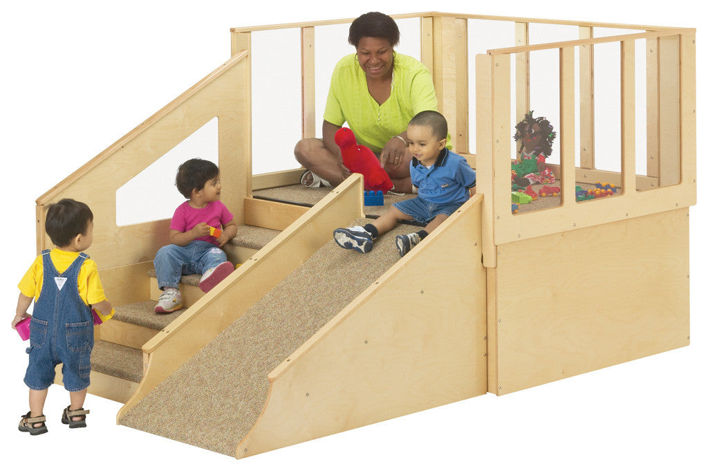 Jonti-Craft Tiny Tots Loft without Bins