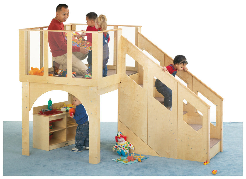 Tots Large Climb Up Loft by Jonti-Craft