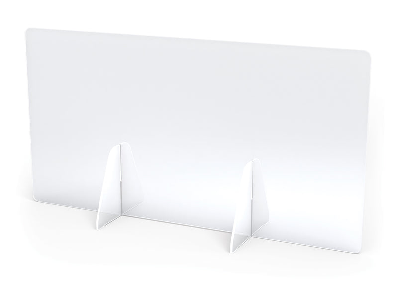 "See-Thru Table Divider Shields- 2 station 30""x8""x16"""