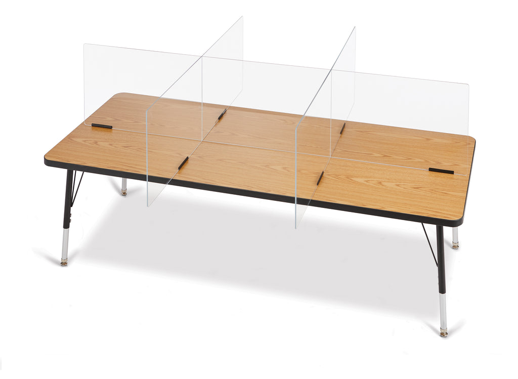 "See-Thru Table Divider 6 station 70.5""x47.5""x16"""