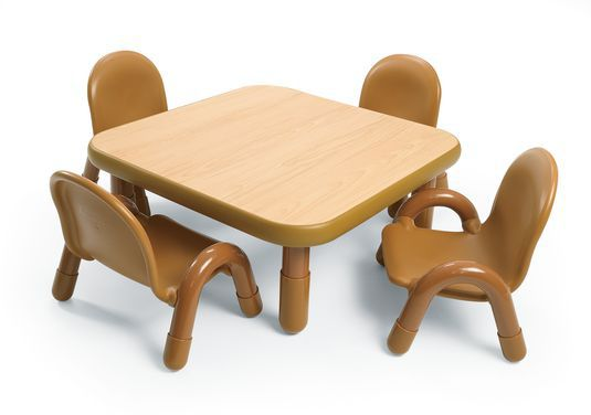 "30"" by 30"" Square Baseline Table with Four Chairs"
