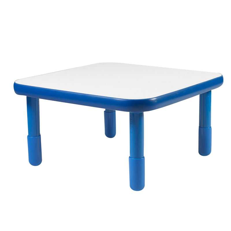 "30"" by 30"" Square Baseline Table  Blue"