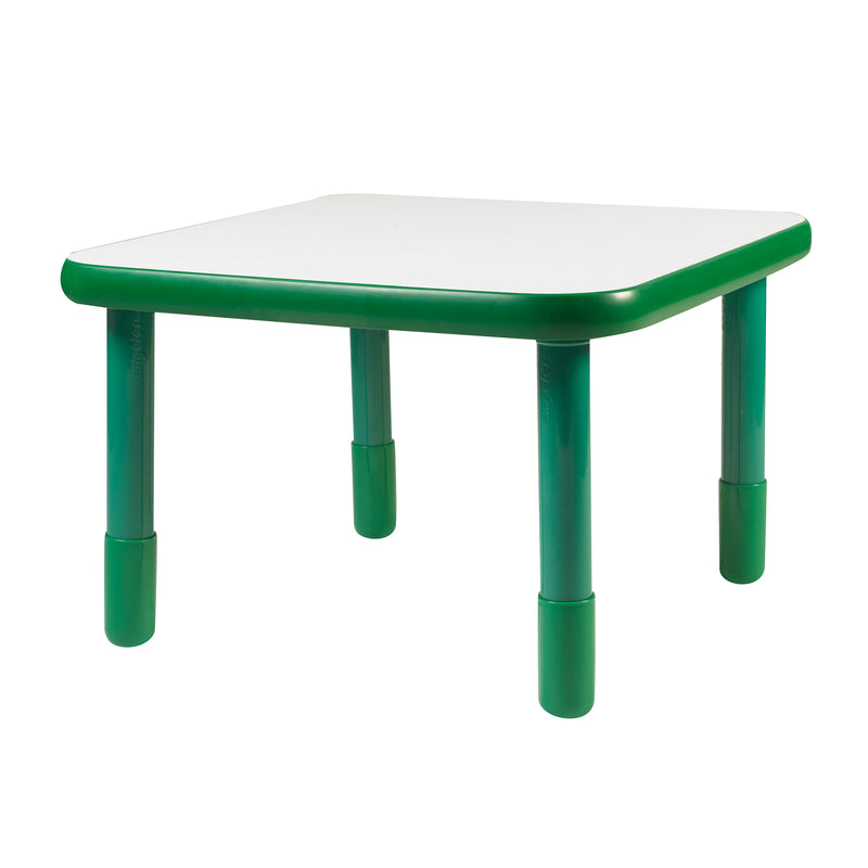 "30"" by 30"" Square Baseline Table Green"