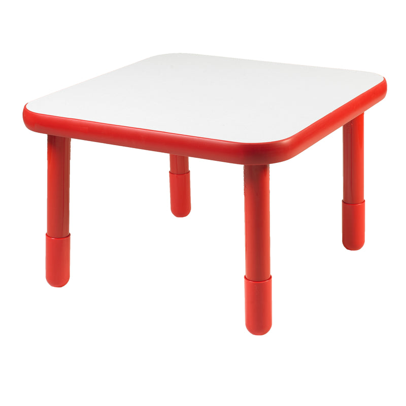 "30"" by 30"" Square Baseline Table Red"