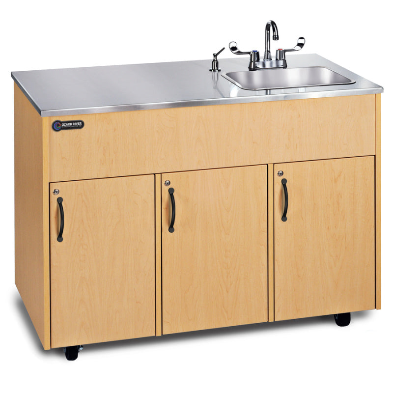 Ozark River Advantage  Portable Hot Water Sink -  Stainless Steel Top and Deep Basin