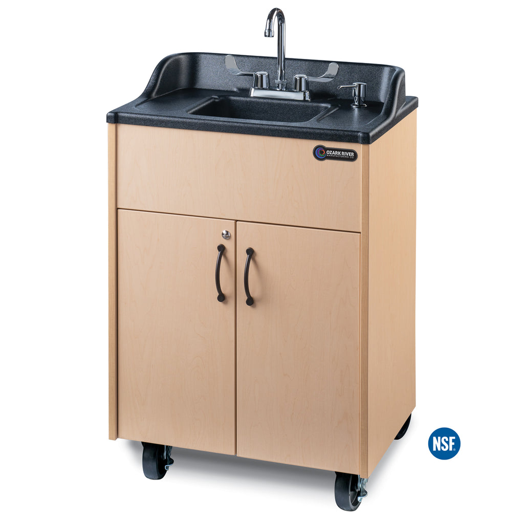 Ozark River Premier Series Portable Hot Water Sink w/ Black ABS Basin