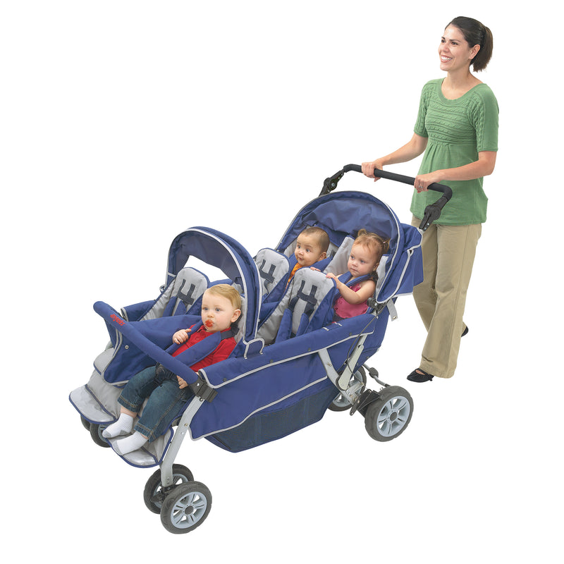 SureStop™ Bye-Bye® 6 Passenger Stroller by Angeles