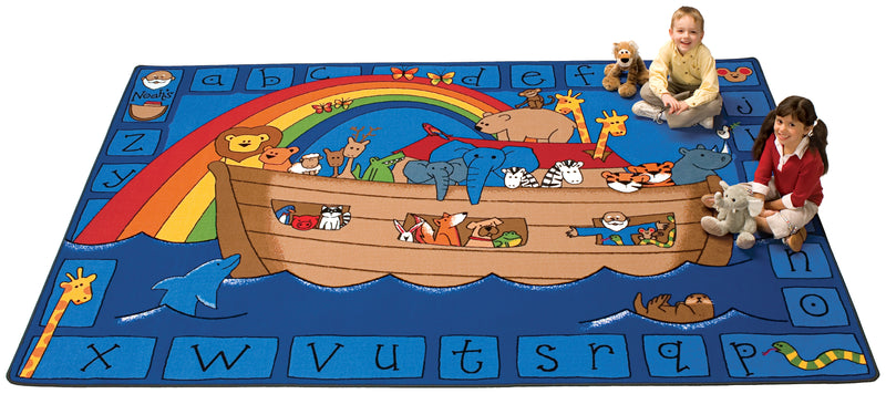Alphabet Noah Rug- Rectangle-3 Sizes
