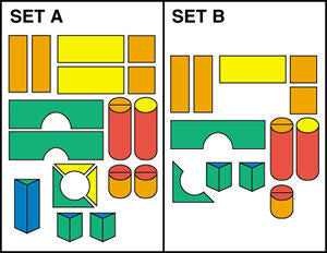 Module Block Sets -Set A and B 35 Pieces schematic