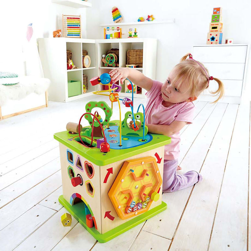 Country Critters 5 Sided Play Cube