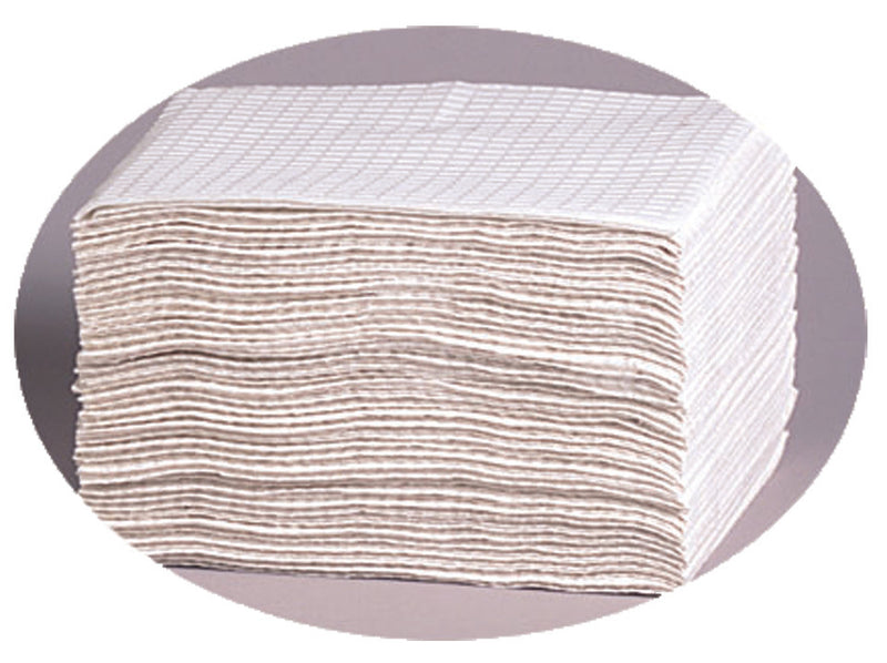 2 Ply Diaper Changing Pads, 13x19, 500ct