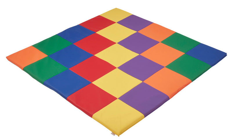 Patchwork Toddler Mat - Primary - Phthalate Free