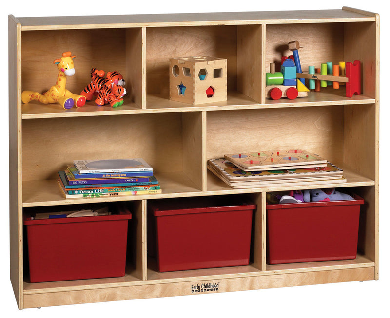 Storage Cabinet 48x13x36 (8 Compartments)