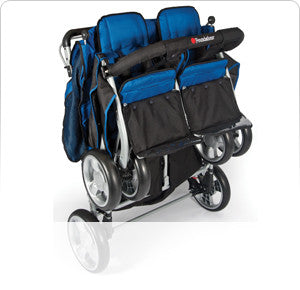 The LX4™ 4-Passenger/ Dual Canopy Folding Stroller