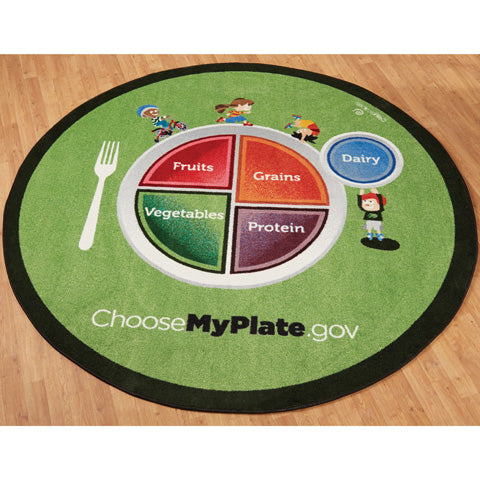 MyPlate Decor Package-Carpet, Mirror and Magnetic Wall Activity