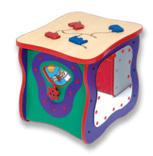 Toddler Oasis Island Play Cube Top View
