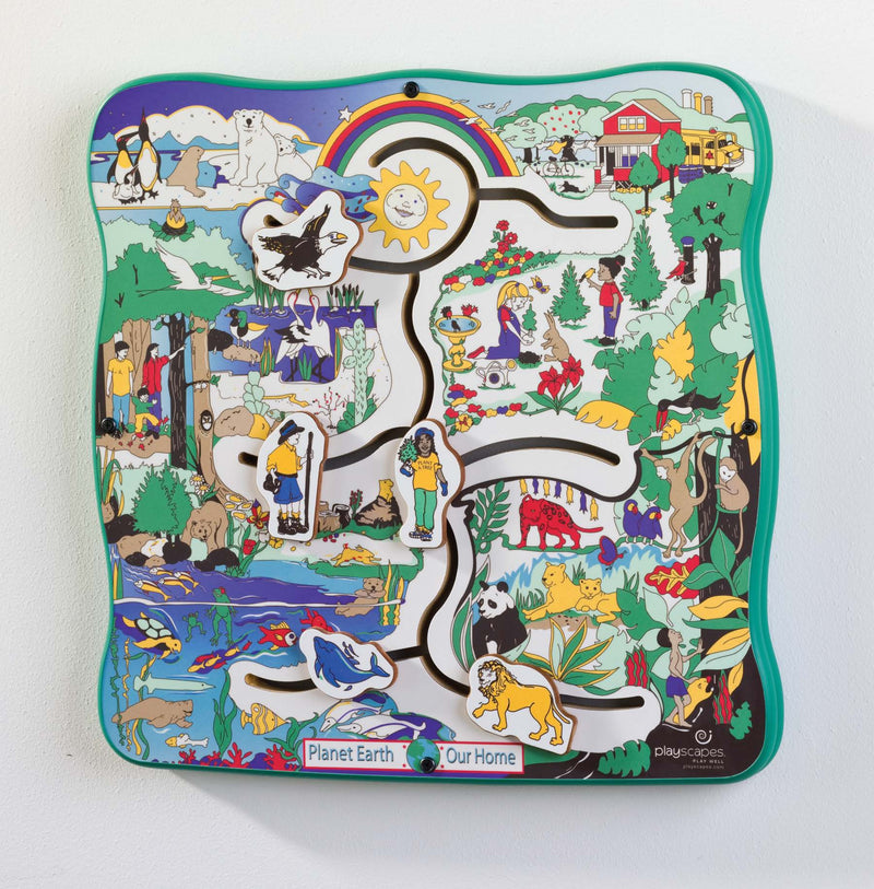 Earth Journeys Wall Panel Toys