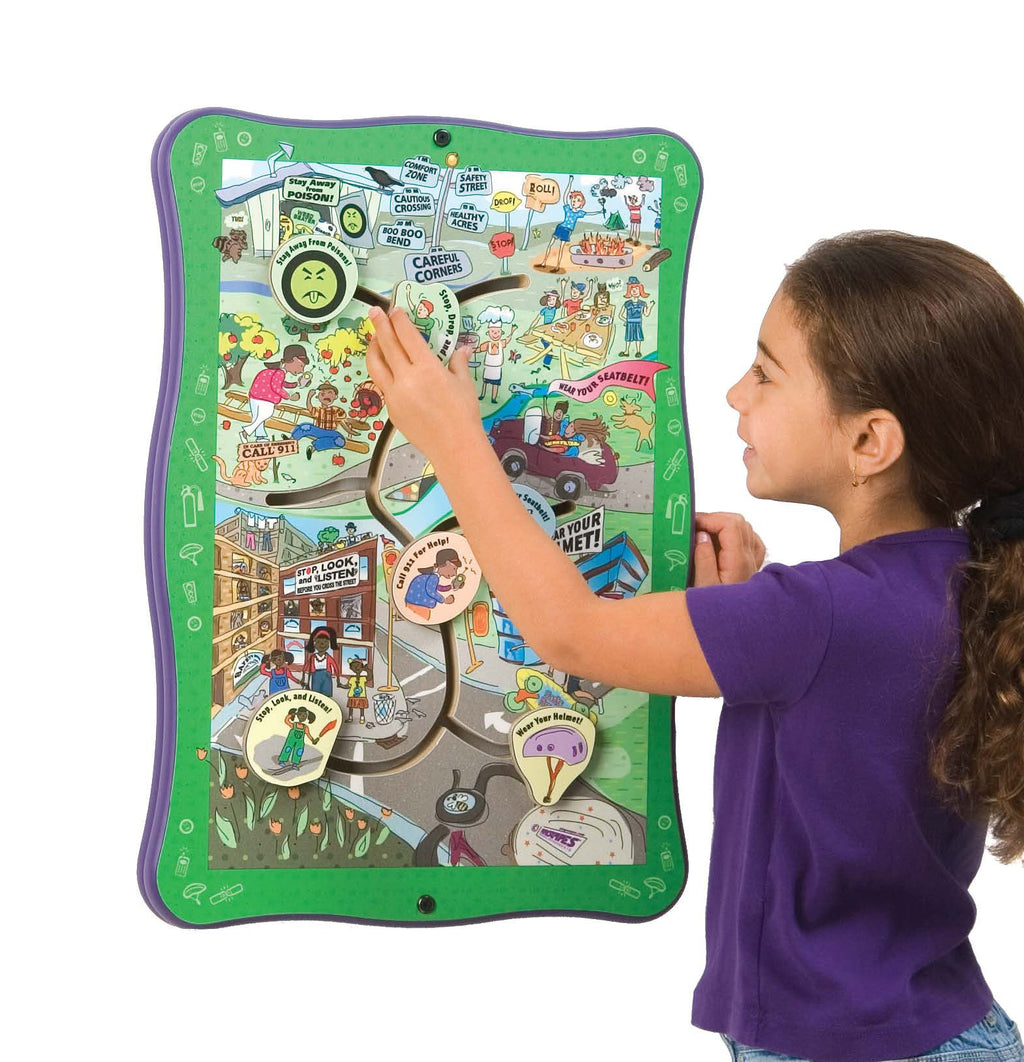 Safety Road Wall Panel Toy