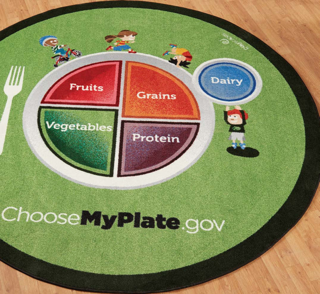 MyPlate Carpet with Food Groups