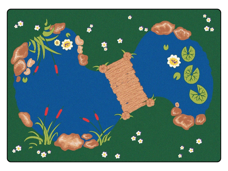 "The Pond Carpets 4'5"" x 5'10"""