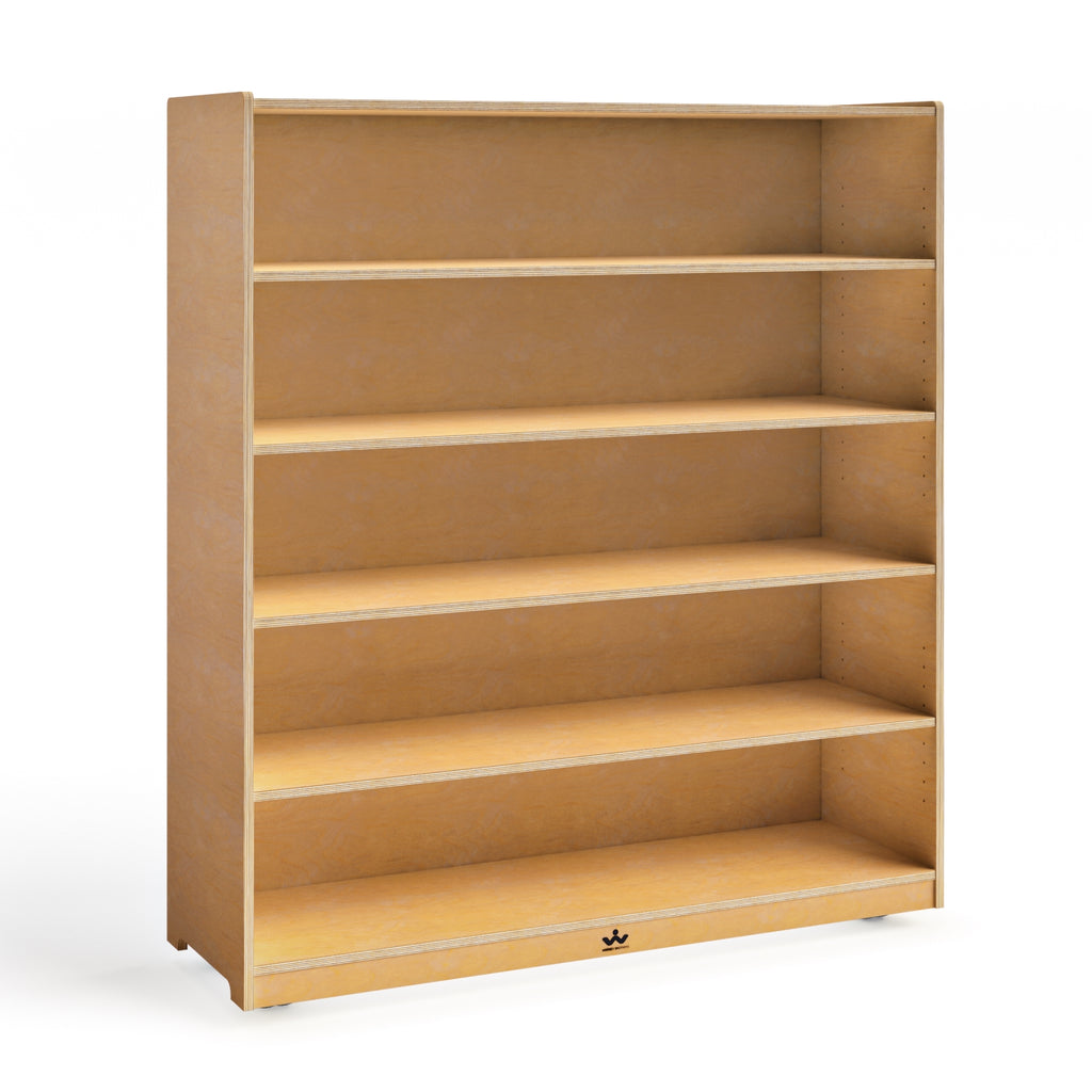 "Mobile Adjustable Shelf Cabinet- 54""H"